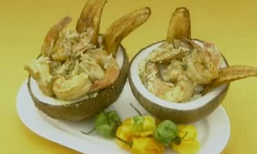 Jamaican Coconut Curried Shrimp Recipie