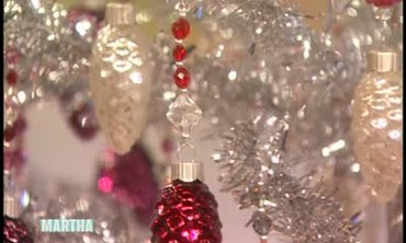 Jewelry Embellished Christmas Ornaments