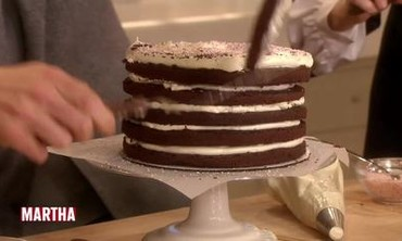 Martha Stewart's Peppermint Candy Cake