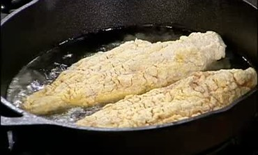 Pan Fried Catfish and Cream Corn Part 2