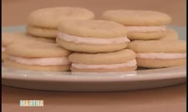 Pink Grapefruit Sandwich Cookie Filling