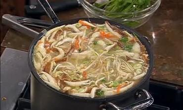 Asian Egg Drop Shrimp Noodle Soup Recipe