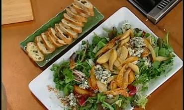 Bitter Harvest Salad and Pork Tenderloin