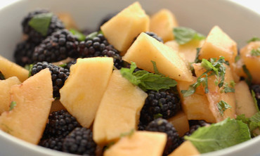 Cantaloupe Blackberry Fruit Salad Recipe