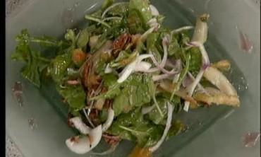 Caramelized Grapefruit and Arugula Salad