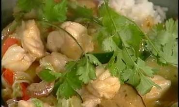 Chef Tom Douglas's Monkfish in Thai Curry