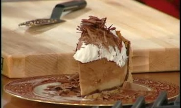 Chocolate and Butterscotch Parfait Pie