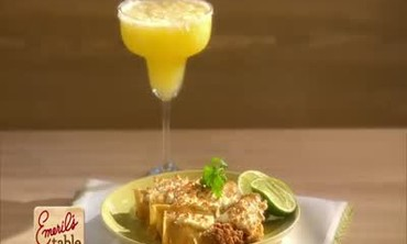 Chorizo Cheese Enchiladas and Margaritas