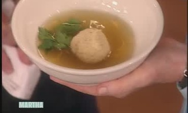 Delicious Matzo Ball Soup with Tony Maws