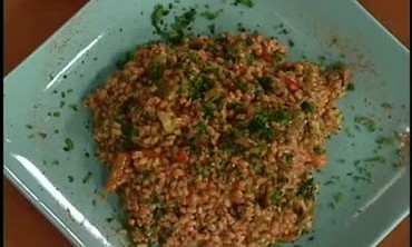Emeril Lagasse Makes Vegetable Jambalaya