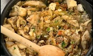 Emeril's Lamb Stuffing for Greek Eggplant