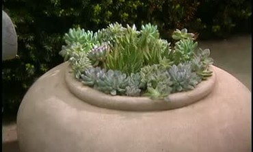 Filling a Giant Pot without Wasting Soil