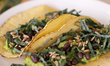 Gluten-Free Avocado and Black Bean Tacos