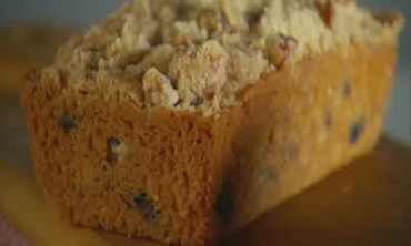 How to Bake Cherry-Pecan Streusel Loaves