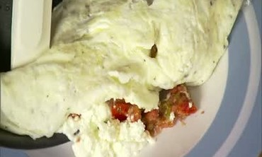 How to: Egg-White Omelet with Goat Cheese
