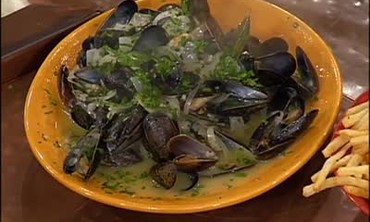 Mussels Meuniere and Pan Roasted Chicken