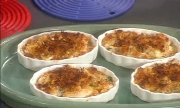 Oyster Gratin Dish and Lobster Thermidor