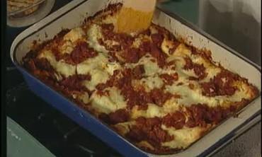 Ricotta, Mozzarella, and Provolone Lasagne