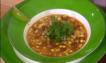Smoked Duck and Sweet Corn Pozole Part 2
