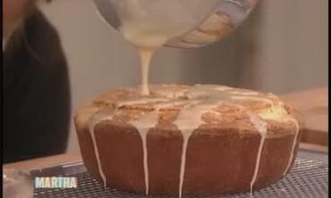 Specialty Pound Cake with Chestnut Glaze