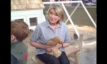 Swinging a Chicken with Martha Stewart