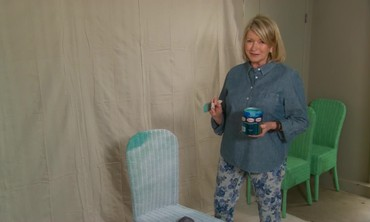 Ask Martha: Spray Painting Wicker Chairs