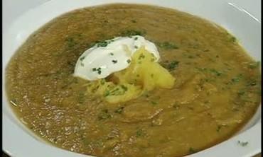 Buttercup, Acorn and Butternut Squash Soup