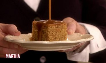 Chef Jane Hornby's Sticky Toffee Pudding