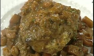 Crawfish Stuffed Pork Chops Recipe, Part 2