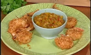 Emeril Lagasse Cooks Beer Battered Shrimp