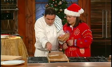 Emeril Lagasse Makes Marshmallow Brownies
