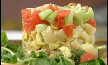 Feel the Love with a Unique Layered Salad