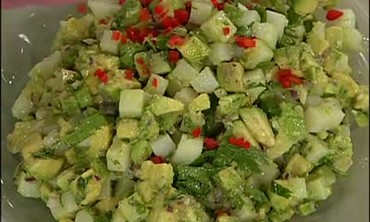 How to Make Cilantro-Avocado Potato Salad