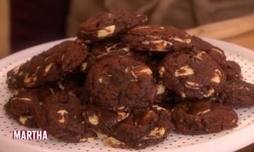 Malika Ameen's Chocolate Truffle Cookies