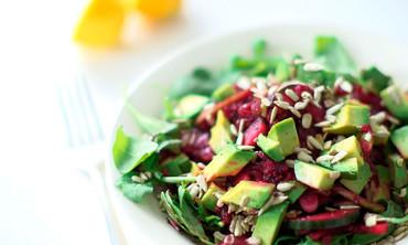Mixed Beets Slaw and Arugula Salad Recipe