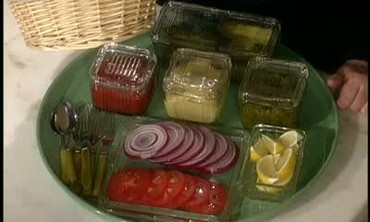 Refrigerator Jars as Condiment Containers