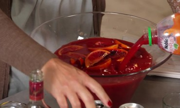 Sweet Blood Orange Punch with Sarah Carey