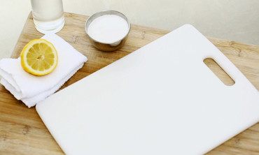 The Green Way to Clean Your Cutting Board