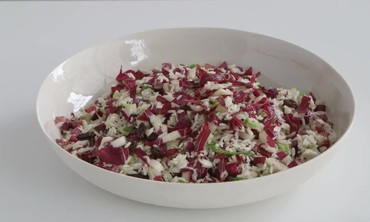 TIP: Rice Salad with Raisins and Scallions