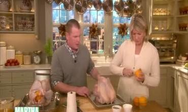 Chef Franey's Wishard Orange-Stuffed Turkey