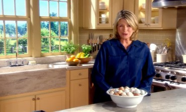 """Martha Stewart's Cooking School"" Preview"