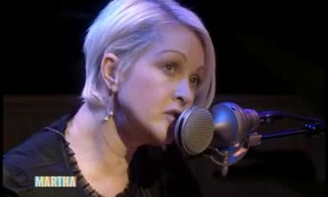 Cyndi Lauper Performs One of Her Hit Songs
