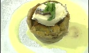 Dairy Farmer Fred Tuttle and Bread Pudding