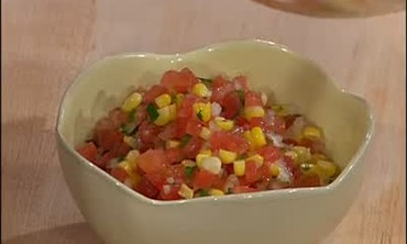 Fried Oysters and Tomato Corn Salsa, Part 1