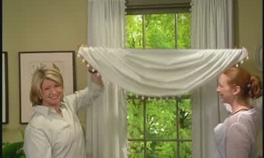 How to Make a Swag Window Treatment, Part 1