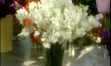How to Make a Sweet Pea Flower Arrangement