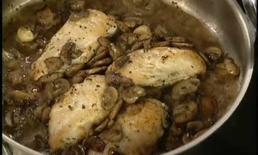 How to Make Chicken Breasts with Mushrooms