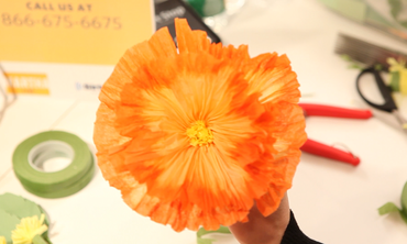 Video how to make paper flowers with livia cetti martha stewart now playing mightylinksfo Image collections