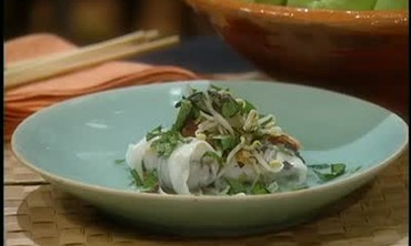 Mai Pham's recipe for Vietnamese Rice Rolls