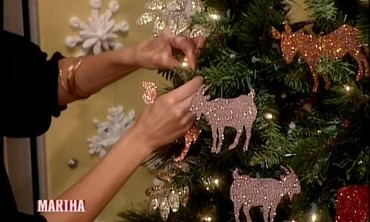 Noah's Ark Tree Ornaments